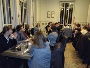 Ambiance et convivialité au repas de Noël du Gerhôsud !