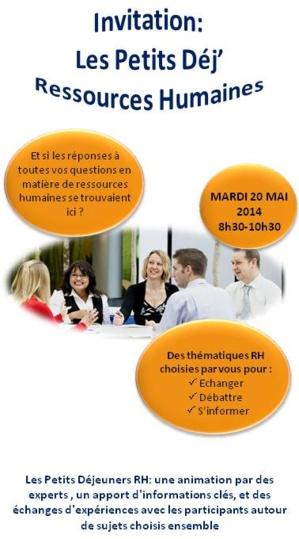 Petits Dej'RH : Recruter autrement : mesures pour optimiser vos embauches - 20 mai 2014