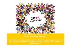 Le GERHÔSUD vous invite à sa cérémonie des voeux 2015 !