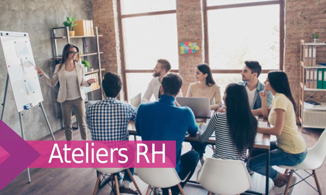 Dirigeants d'entreprises : Découvrez la nouvelle programmation des ateliers RH 2021-2022 ! Inscrivez-vous, c'est gratuit !