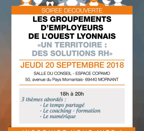 Soirée des groupements d'employeurs de l'Ouest-lyonnais