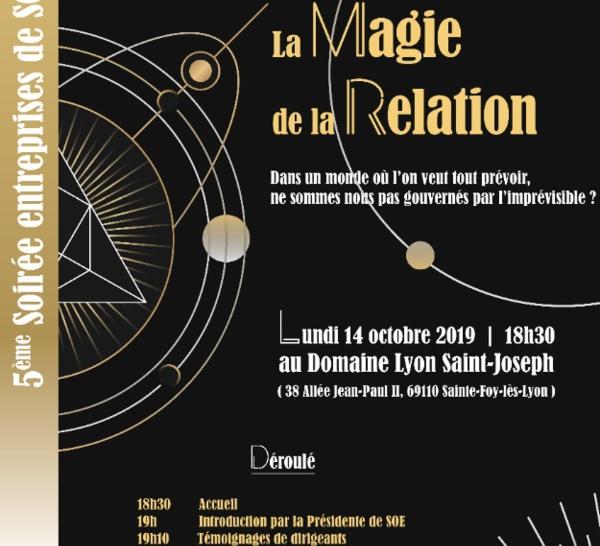 Soirée annuelle de Sud Ouest Emploi : 14 octobre - La Magie de la Relation